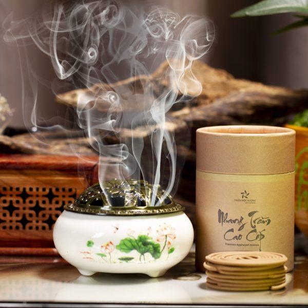 Nhang khoanh trầm hương