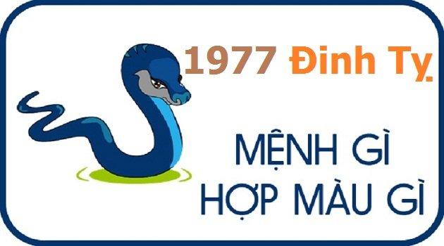 Sinh năm 1977 thuộc mệnh gì?