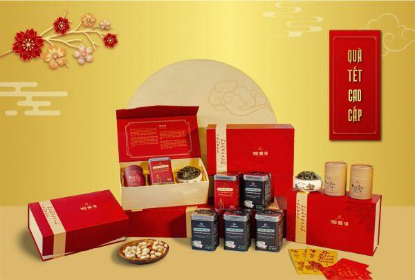 Hộp trà quà tặng Trần Hương