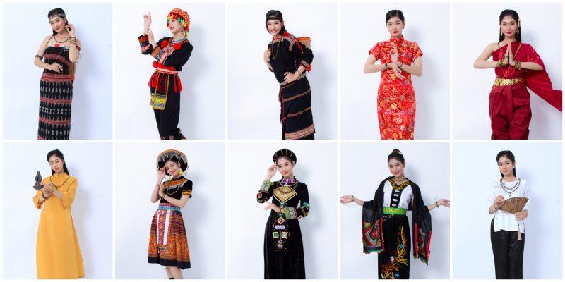 """9 trang phục dân tộc trong Bộ ảnh """"Trang phục dân tộc kết hợp trang sức Trầm Hương"""" gây tranh cãi"""