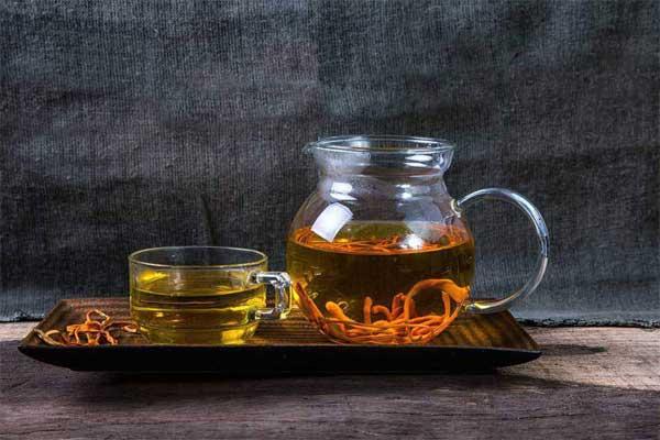 """dùng """"tiên dược"""" để hãm trà"""