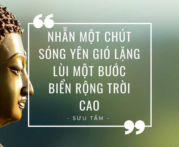 """Lời Phật dạy về chữ """"Nhẫn"""""""