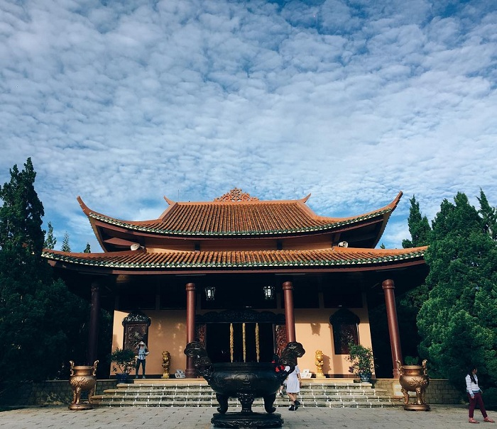 Thiền viện Trúc Lâm nổi tiếng Đà Lạt
